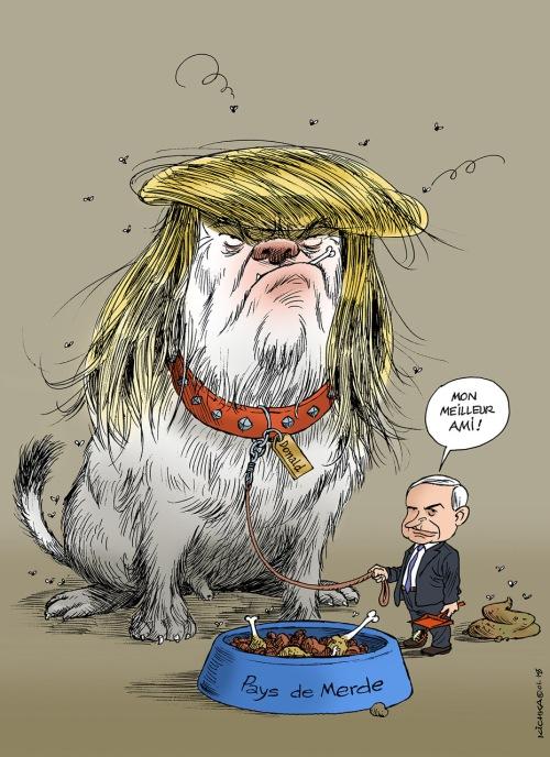 Bibi avec Trump