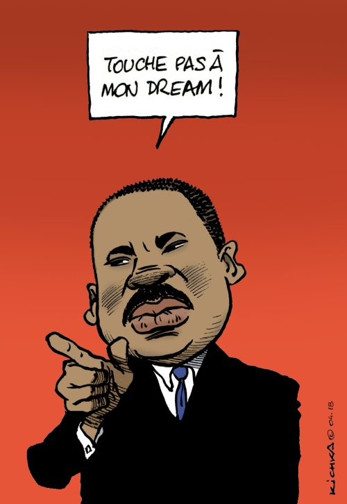 Martin Luther King 40 ans
