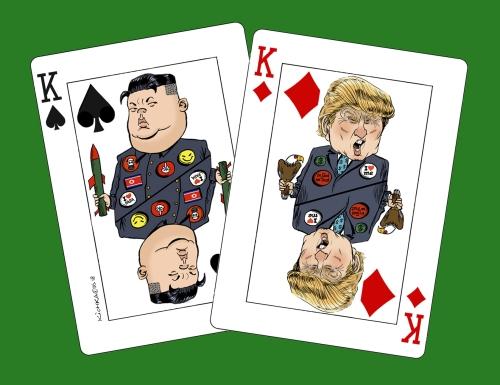 Trump Kim Kings