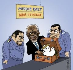 Kofi Annan Middle East