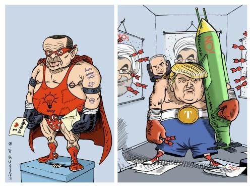 Trump Erdogan 2018