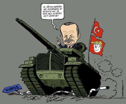 Erdogan Kurdes 2019