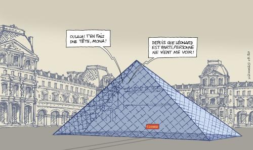 Corona Louvre 2020