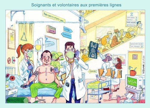 Soignants Coronavirus 2020