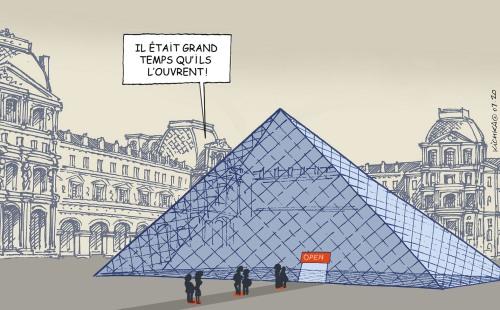 Le Louvre Juillet 2020
