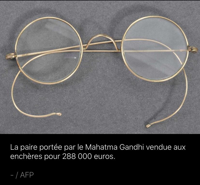 Gandhi lunettes