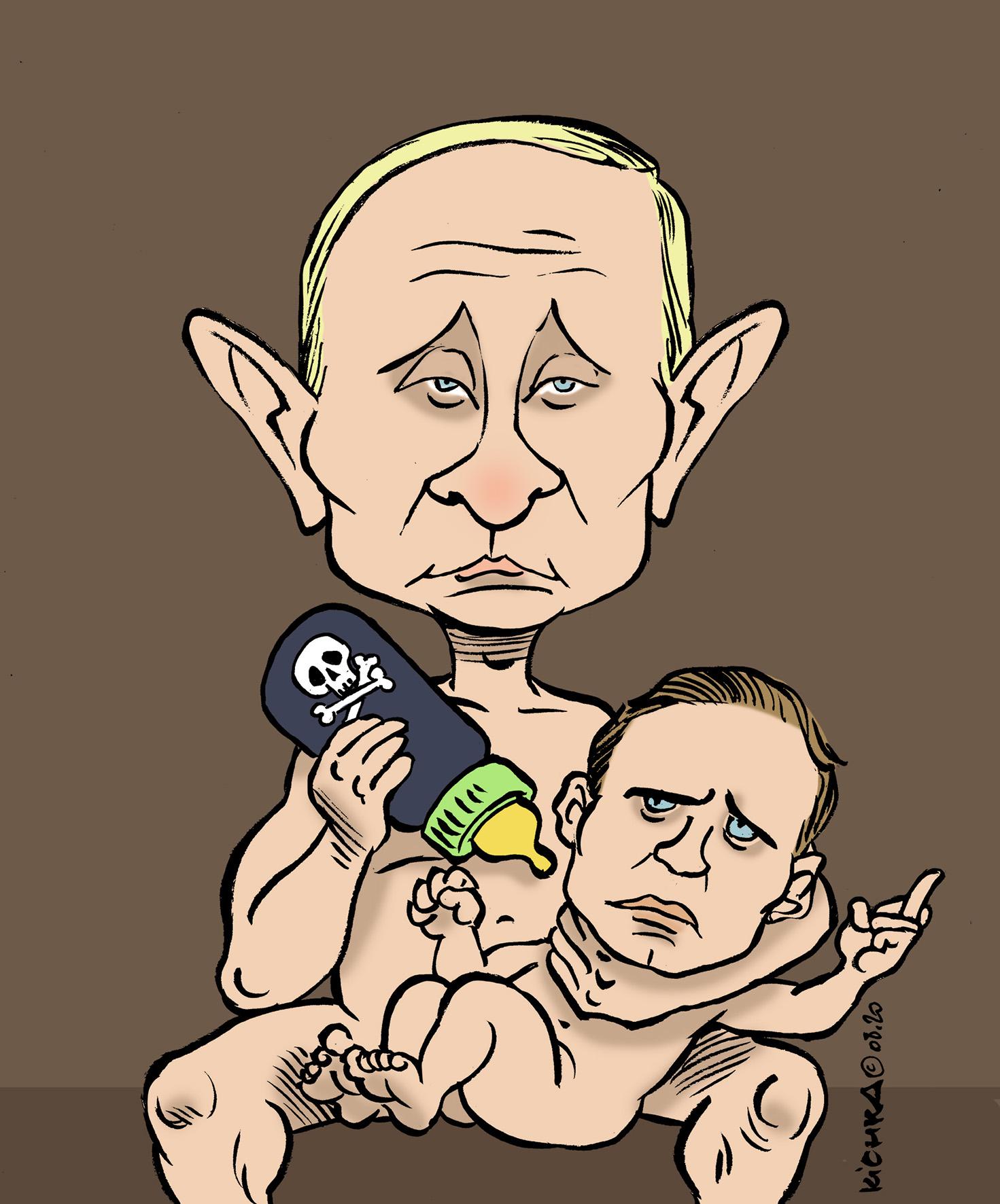 Navalny Poutine 2020
